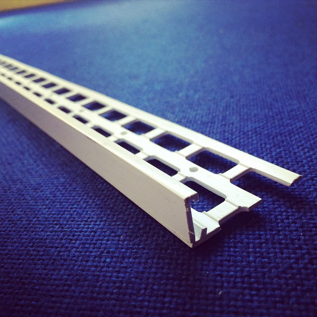 15mm ivory upvc stop bead 2 5m