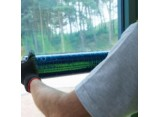 Blue Window Protection - Self Adhesive - 600mm x100m