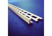 10mm White UPVC Stop Bead 2.5m - Pack of 25