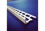 15mm White UPVC Stop Bead 2.5m